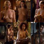 Голые актрисы сериала Игра Престолов - Naked Game of Thrones