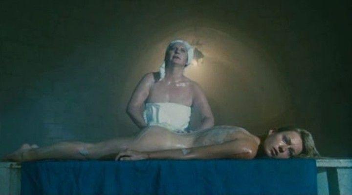 Анастасия Панина голая в бане