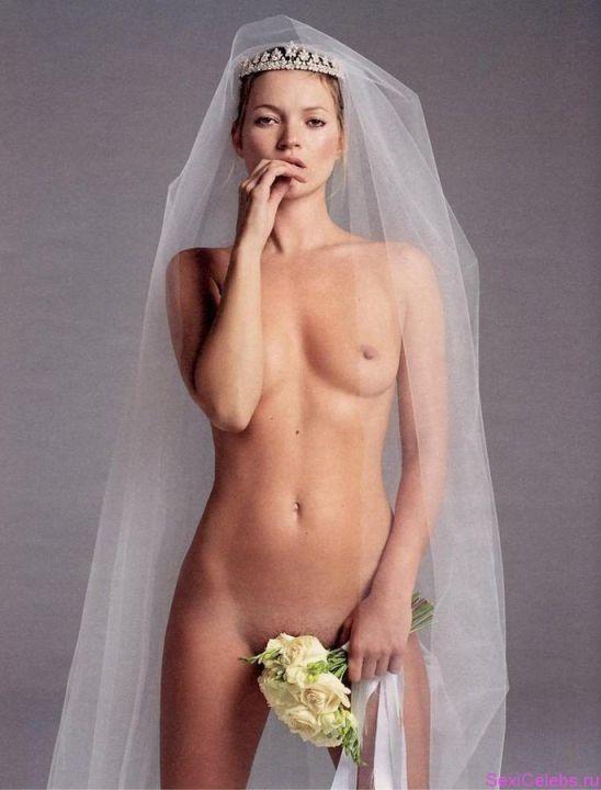 голая Кейт Мосс невеста