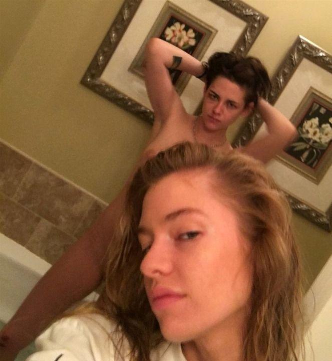 Кристен Стюарт и ее девушка слитые фото