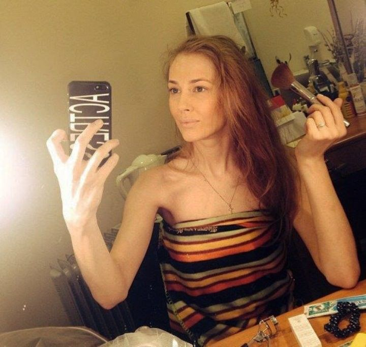 Татьяна Бабенкова без макияжа