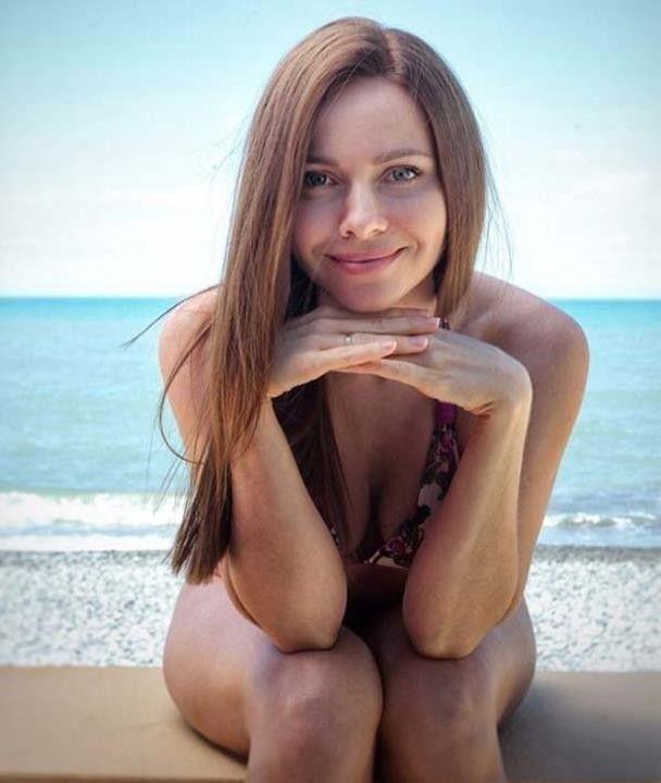 Фото Екатерины Гусевой в купальнике