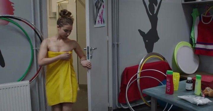 Юлия Маргулис без нижнего белье