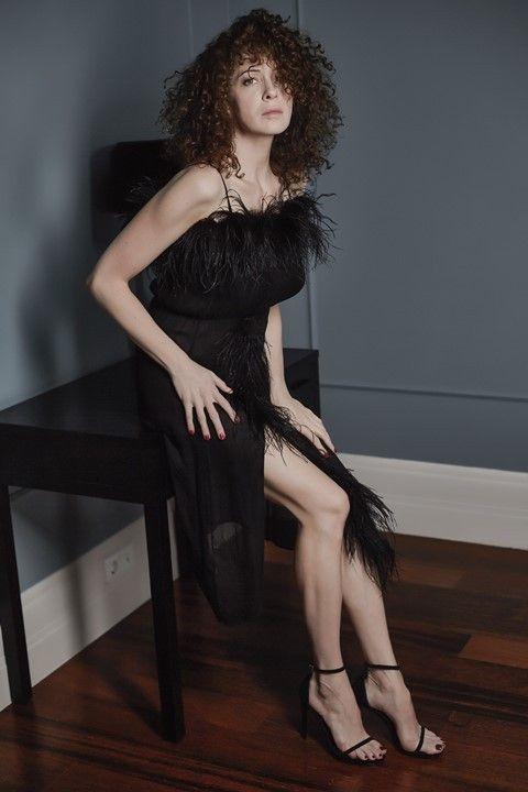 Ксения Раппопорт в сексуальном платье