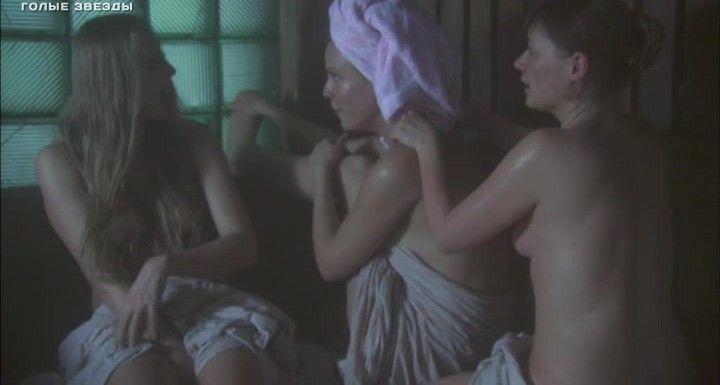 голая Мария Куликова в бане