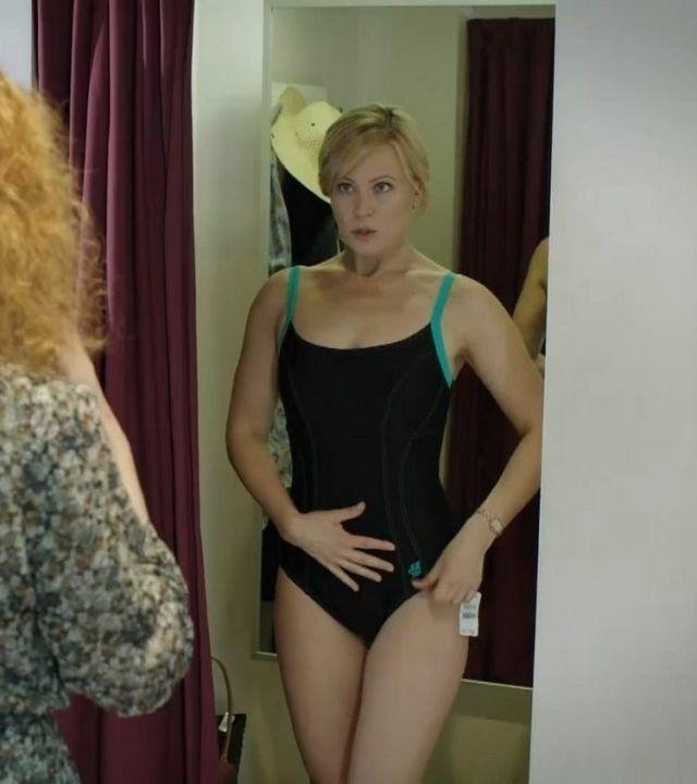 Мария Куликова в купальнике