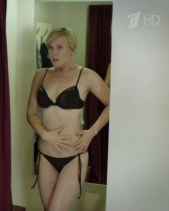 Мария Куликова в сексуальном нижнем белье