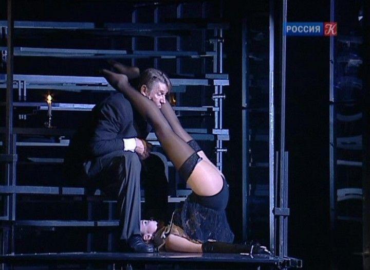 Мария Миронова в чулках