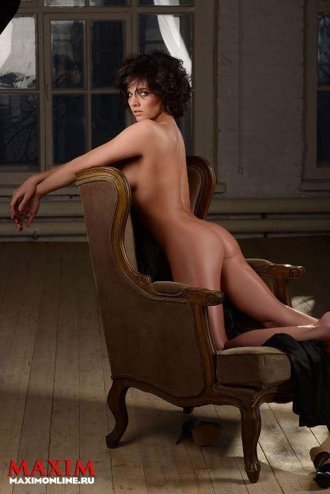голая Наталья Земцова фото в журнале Максим