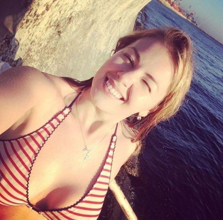 Олеся Фаттахова грудь в купальнике