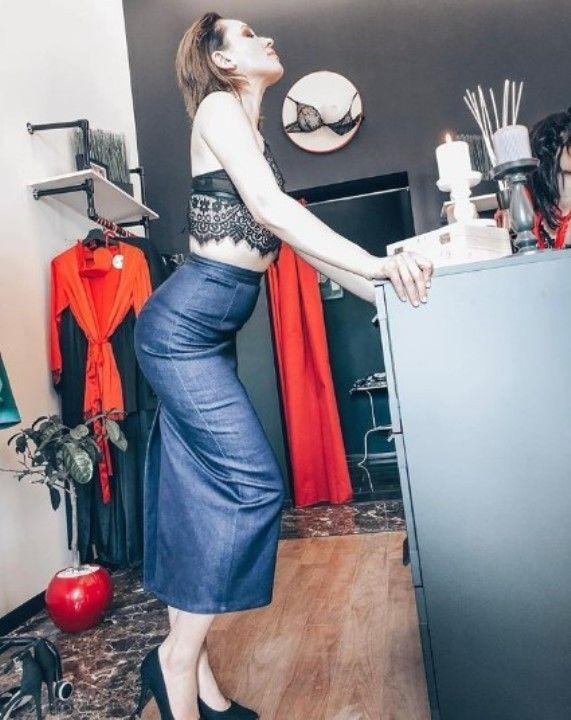 Светлана Марцинкевич в кружевном лифчике