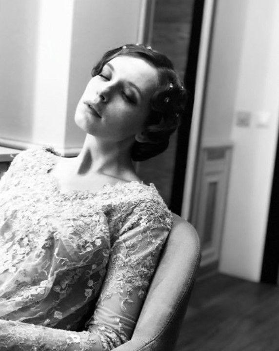Татьяна Лялина в прозрачном платье без лифчика