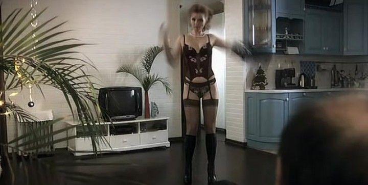 Юлия Вайшнур в нижнем белье
