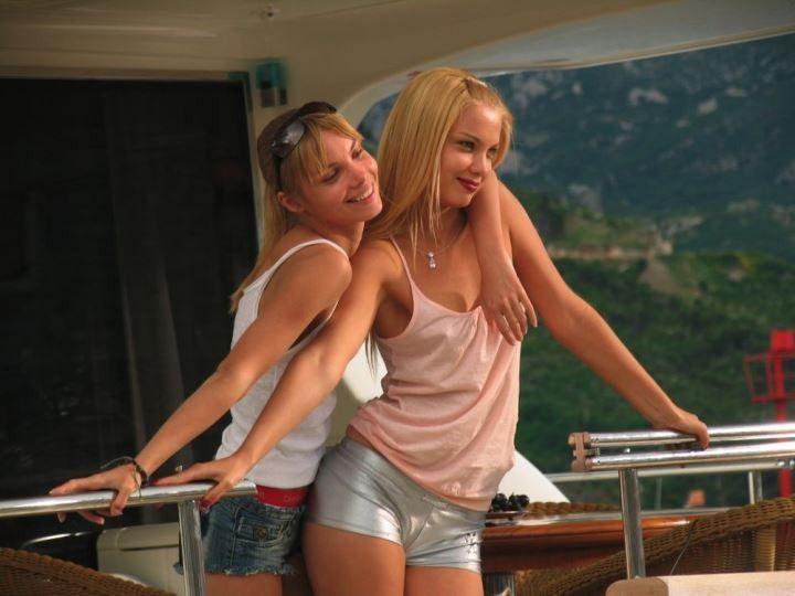 сестры Арнтгольц – Татьяна и Ольга в кино