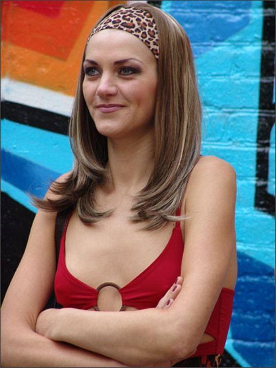Анна Уколова в голом платье
