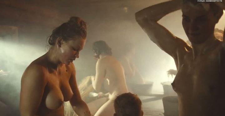 голая Анна Уколова в банне