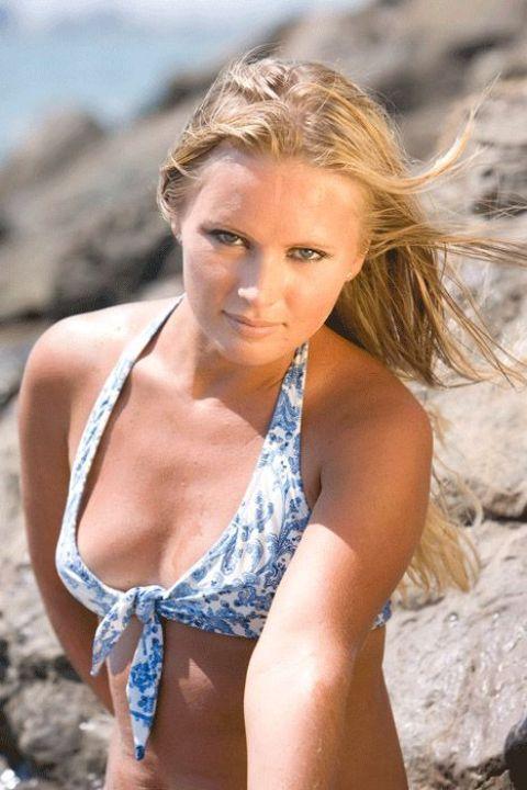 Дана Борисова в купальнике