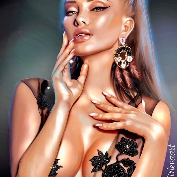 Евгения Феофилактова грудь