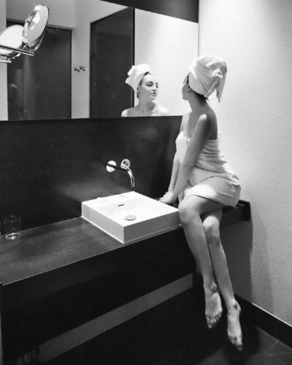 Кристина Каширина без белья