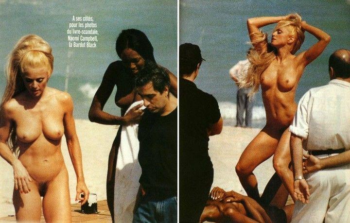 голая Мадонна в молодости