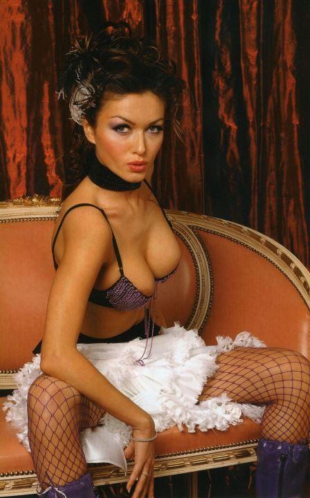 Юлия Такшина голая в белье