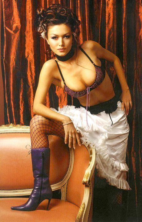 Юлия Такшина в нижнем белье