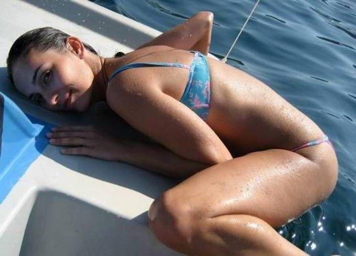 горячее фото Юлии Зиминой в купальнике