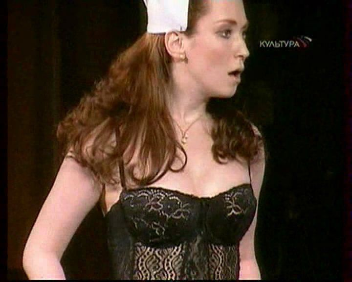 Анна Большова в нижнем белье