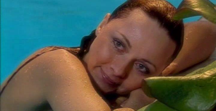 Дарья Повереннова мокрая