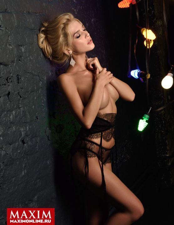 голая Эрика Герцег в журнале Maxim