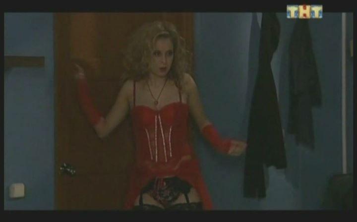 Лариса Баранова в нижнем белье