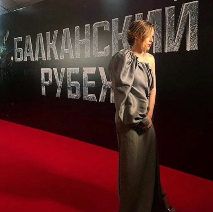 актриса Милена Радулович из Балканский рубеж