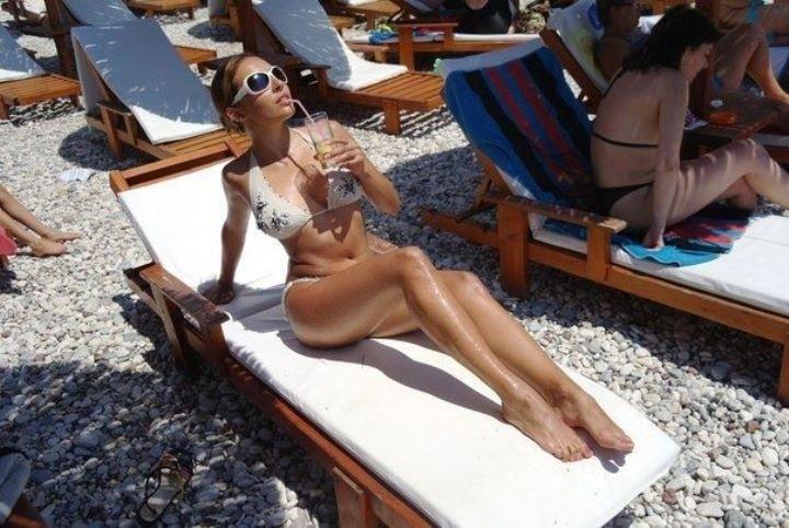 Ольга Дибцева фото в купальнике