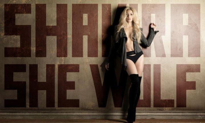 певица Шакира голая