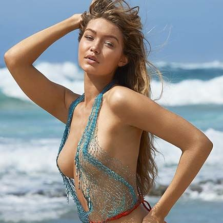 Nude Gigi Hadid