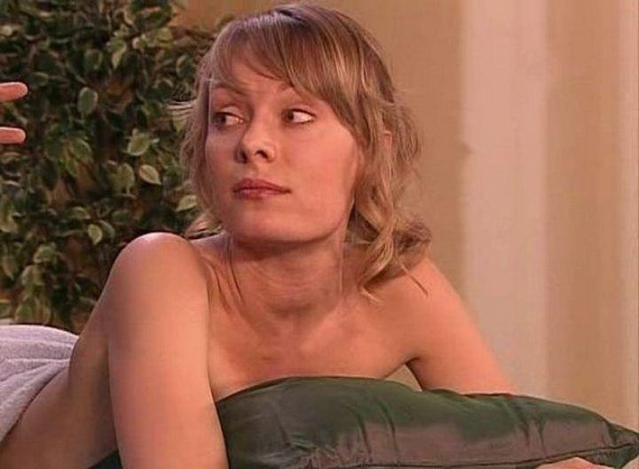 Ольга Ломоносова без нижнего белья