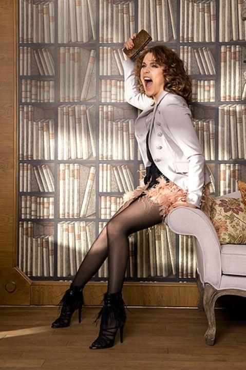 Светлана Антонова показала ножки в колготках