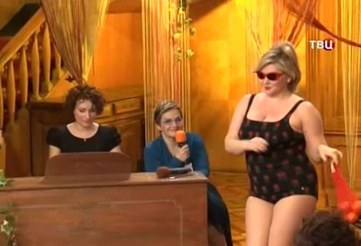 Марина Гайзидорская в купальнике