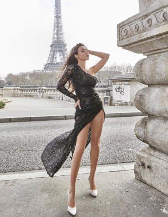 фото Дианы Мелисон в голом платье