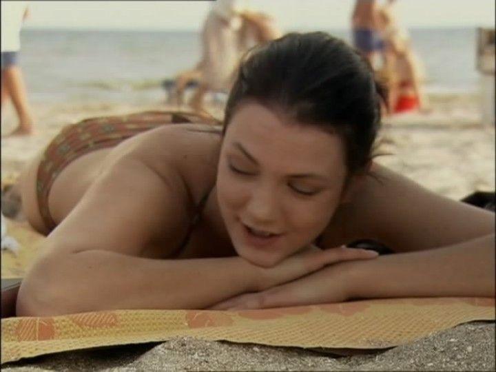 Елена Плаксина в купальнике