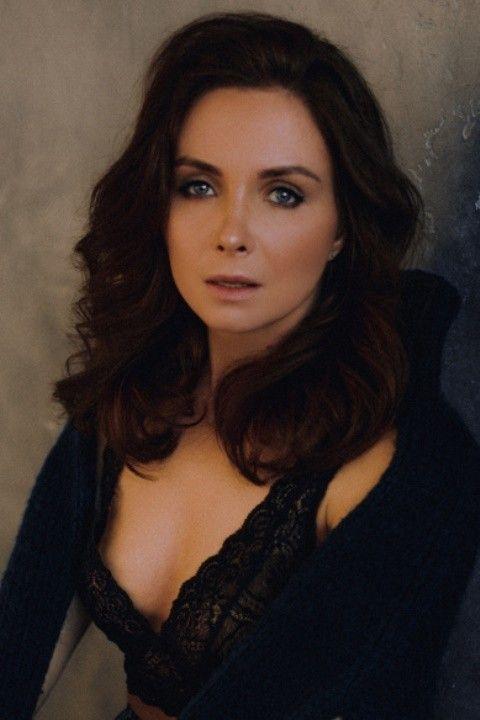 Елена Радевич в нижнем белье
