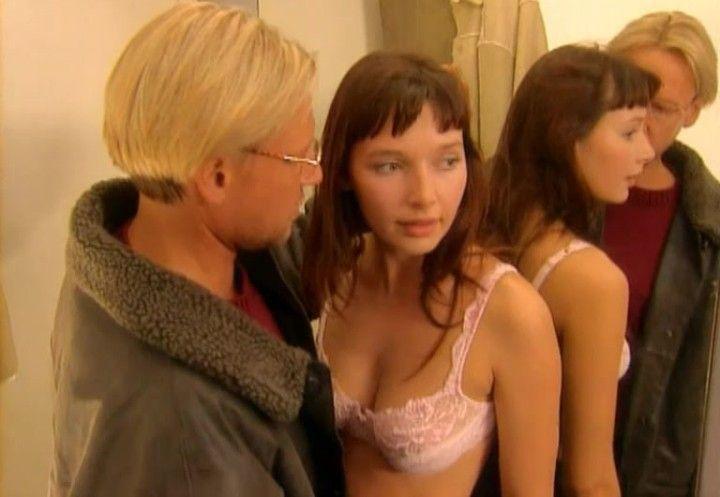 молодая Наталия Антонова в нижнем белье