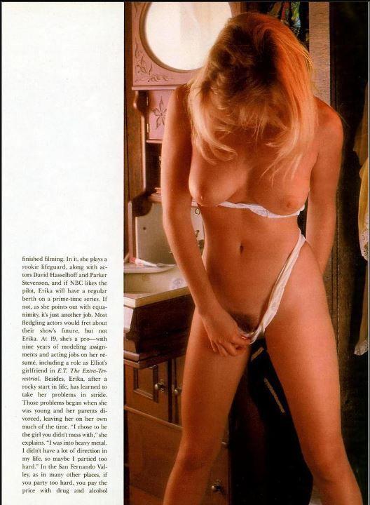 Erika eleniak pussy up close, cum in young girls face