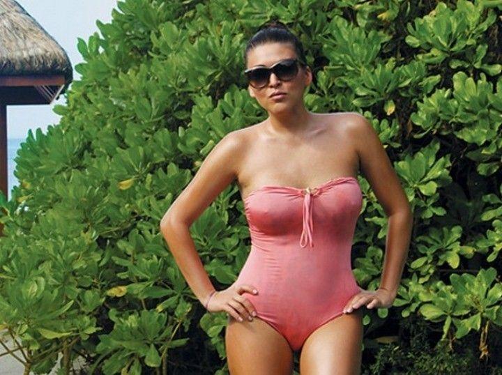 Ирина Дубцова в купальнике