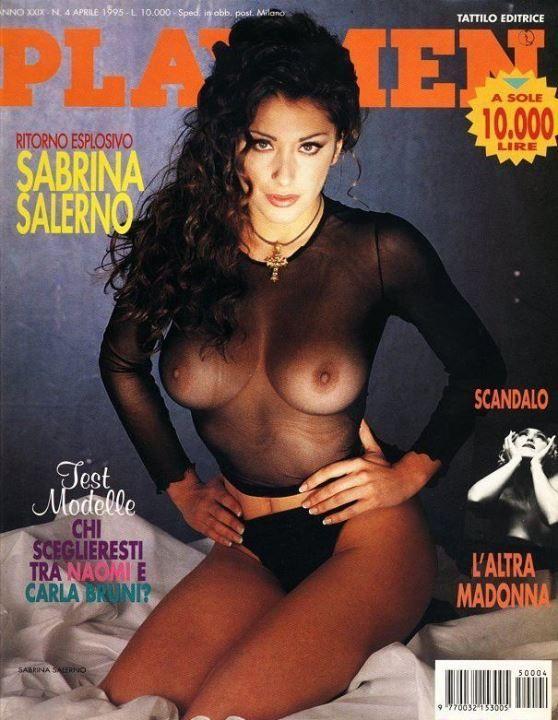 Сабрина Салерно в журнале Плейбой