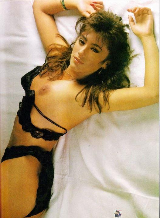голая Сабрина Салерно в молодости