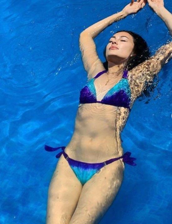горячая Ольга Ушакова в мини бикини