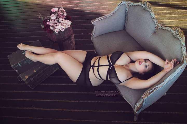 фото обнаженной Светланы Кашировой