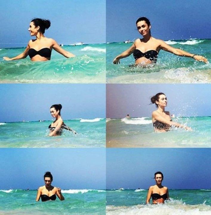 Виктория Заболотная фото в купальнике