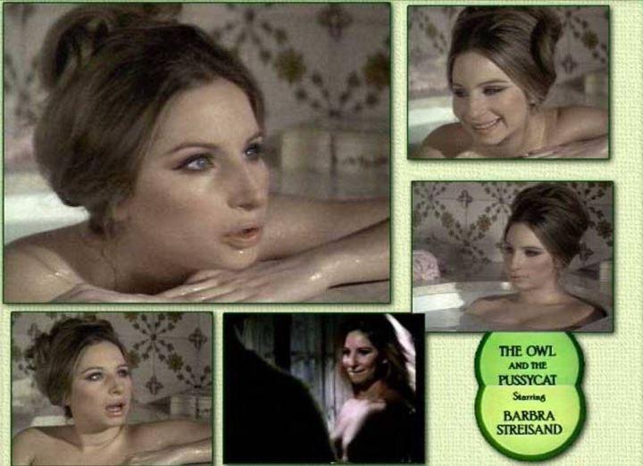 голая Барбара Стрейзанд в молодости